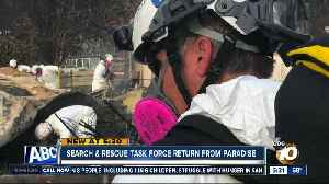 San Diego fire crews return from Paradise [Video]