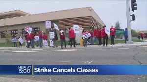 Strike Cancels Classes [Video]