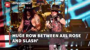 Looks Like Guns And Roses Is More Guns These Days [Video]