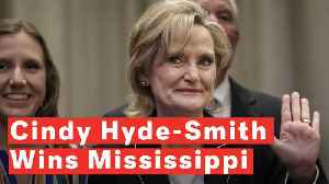 Cindy Hyde-Smith Wins Mississippi Senate Election [Video]