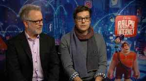 News video: 'Ralph Breaks The Internet': Exclusive Interview with the Writers & Directors