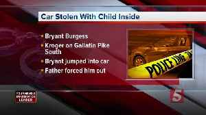 Father stops man from stealing car with 5-year-old inside [Video]