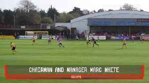 2 promotions in 18 seasons - the rise and rise of Dorking Wanderers FC [Video]