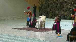 Boy Steals The Show At The Vatican [Video]