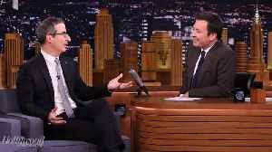John Oliver Opens Up About Not Announcing Birth of Son | THR News [Video]