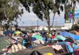 Overcrowding, Poor Conditions Seen in Temporary Migrant Shelter in Tijuana [Video]