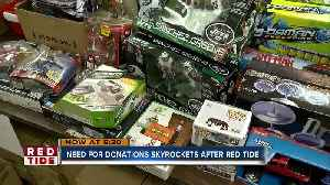 Red tide may be impacting Manatee County Salvation Army toy drive [Video]