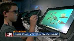 Virtual Reality school bus shows 5th graders a new way to learn [Video]