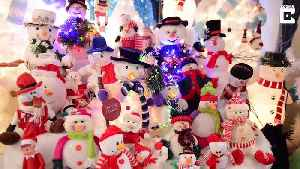 News video: Gran spends £30k transforming home into Christmas grotto – despite husband being the real life Scrooge
