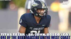 St. John Bosco's (CA) Titus Toler is a savage [Video]