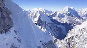 This Man Just Became The First Person To Solo Climb The Himalayas [Video]