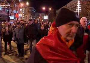 Thousands March to Demand Resignation of Macedonian Government Over Planned Name Change [Video]