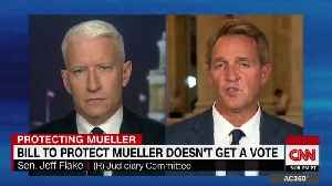 Jeff Flake defends his decision to note vote for Trump's judges [Video]