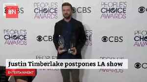 Justin Timberlake Is Postponing Shows Due To Vocal Chord Issues [Video]