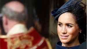 Is The British Media Turning On Meghan Markle? [Video]