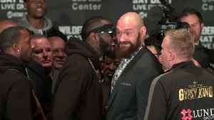 Chaos reigns at Deontay Wilder/Tyson Fury news conference [Video]