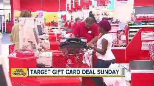 Target gift card deal happening Sunday, December 2 [Video]
