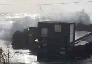 Storm Batters Azores Island Coast Before Heading to Europe [Video]