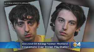 Florida Sheriff: Pair Killed Ex-Housemate Over Stolen PlayStation [Video]