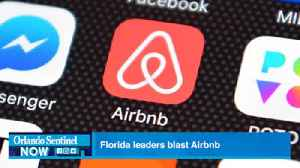 Florida leaders blast Airbnb over West Bank rental ban [Video]