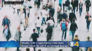 US Life Expectency Drops; Drug Overdoses & Suicide To Blame [Video]