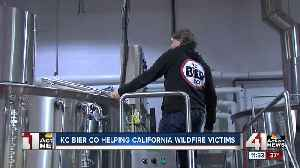 KC Bier Co. helping victims of California wildfires [Video]