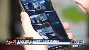 School leaders discussing school safety [Video]