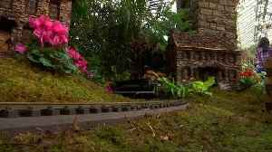 All aboard to the Holiday Train Show at the New York Botanical Garden [Video]