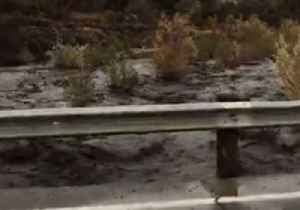 Rains Bring Heavy Debris Flow from California's Holy Fire Area [Video]