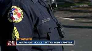 North Port officers start wearing body cameras [Video]