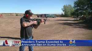 Trump Administration To Announce Bump Stock Ban [Video]