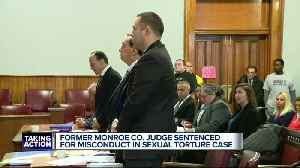 Former Monroe County judge sentenced to up to five years in prison for prostitution case [Video]