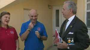 Veteran Awarded Key To Mortgage Free Home [Video]