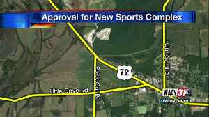 Proposal for new sports  complex approved [Video]
