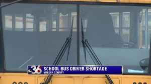 Mercer County bus driver shortage making some kids late [Video]