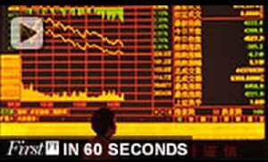Chinese shares sell-off, Zuckerberg's robot butler | FirstFT [Video]