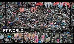 Hong Kongers march for democracy [Video]