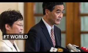 CY Leung responds to Hong Kong protesters [Video]