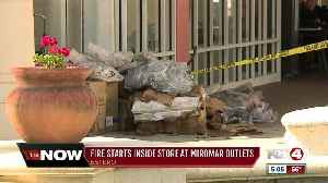 Fire causes evacuations at Miromar Outlets [Video]