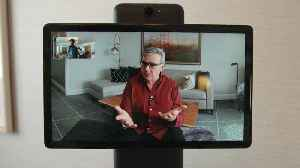 Facebook's new video chat camera, Portal, can follow you [Video]