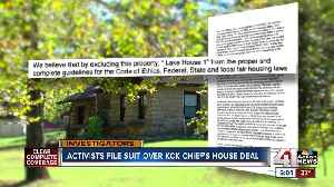 Activists sue KCK over police chief lease deal [Video]