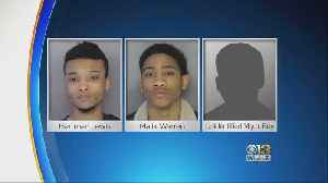 14-Year-Old, 2 Others Arrested In Towson Auto Thefts [Video]