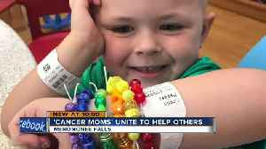 Menomonee Falls moms united by their children's cancer fight back to save others [Video]