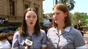 Students across Australia skip class for mass climate protests [Video]