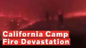 California Deputy Walks Through Camp Fire [Video]