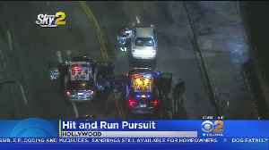 Hollywood Car Chases Interrupted By Second [Video]