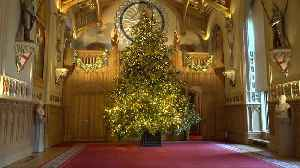 Christmas comes to Windsor Castle [Video]