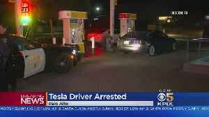 Tesla Driver Accused Of DUI; May Have Been Using Autopilot [Video]