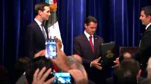 Kushner receives Mexico's top honor [Video]