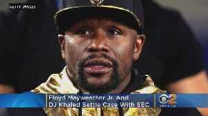 Floyd Mayweather, DJ Khaled Settle With SEC In Cryptocurrency Probe [Video]